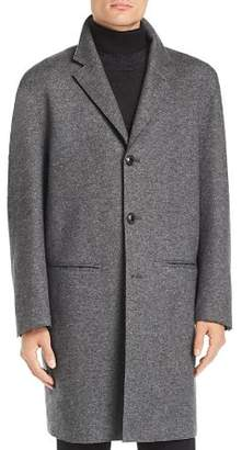 John Varvatos Collection Easy Fit Double-Faced Overcoat