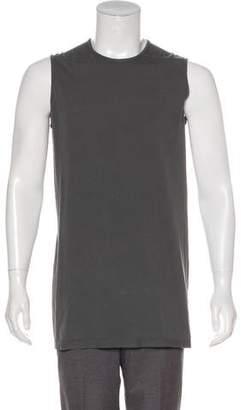 Rick Owens Oversize Longline Sleeveless T-Shirt w/ Tags