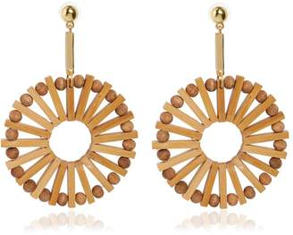 Cult Gaia Eva Bamboo Earrings
