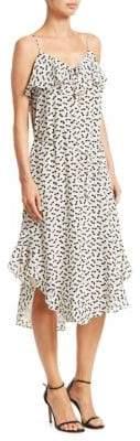Zimmermann Flounce Silk Tank Dress
