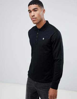 Diesel T-Weet-LS long sleeve logo polo shirt