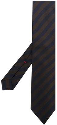 Isaia striped tie