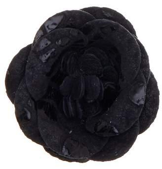hook + ALBERT Steam Coated Leather Lapel Flower