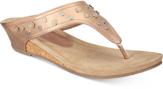 Kenneth Cole Reaction Great Leap Wedge Sandals Women's Shoes $49 thestylecure.com