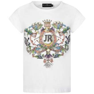 John Richmond John RichmondGirls White Cotton Top