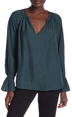 Ramy Brook Margaret Studded Blouse