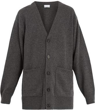 Raey Long-line cashmere cardigan