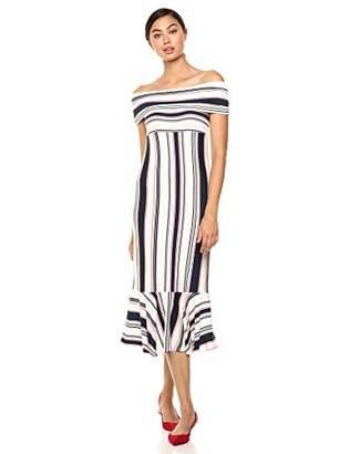 Ella Moss Women's Nora Off Shoulder Sleeveless Dress