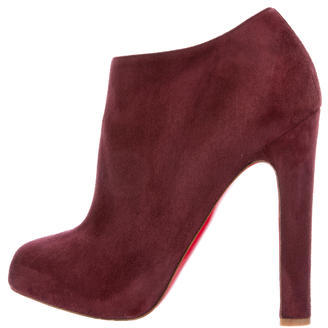 Christian Louboutin Christian Louboutin Vicky Suede Booties