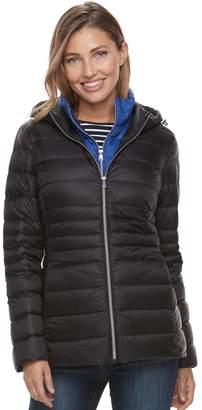 Details Women's Hooded Puffer Jacket & Puffer Vest Set