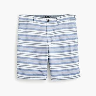 """J.Crew 9"""" Oxford Short In Blue Stripe"""