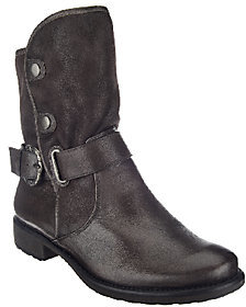 BareTraps Suede & Leather Water Repellent Ankle Boots - Select $96.50 thestylecure.com
