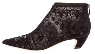 Christian Dior 2017 Diroeve Embellished Booties