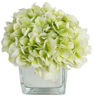 DAY Birger et Mikkelsen RG Style Artificial Silk Hydrangea Floral Arrangements in Decorative Vase Flower