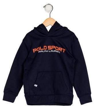 Polo Ralph Lauren Boys' Hooded Printed Sweater