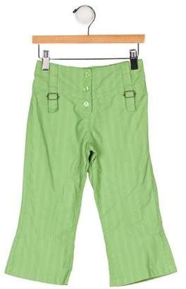 Catimini Girls' Striped Pants