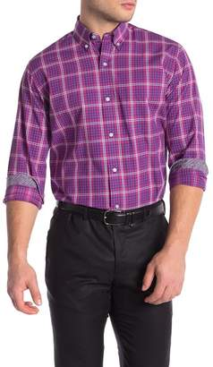 Tailorbyrd Plaid Long Sleeve Shirt