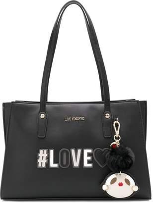 Love Moschino Love logo shoulder bag