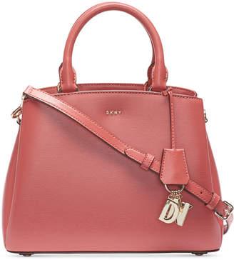 DKNY Paige Leather Medium Satchel