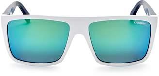 Carrera Rectangle Sunglasses, 57mm