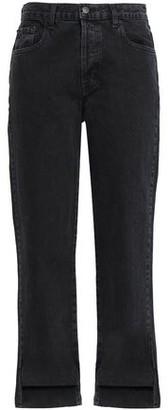 J Brand Cropped High-rise Straight-leg Jeans