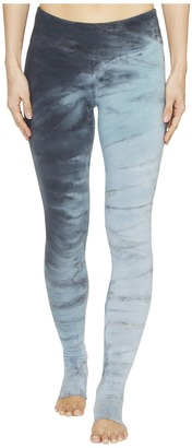 Hard Tail - Flat Waist Stirrup Leggings Women's Casual Pants $64 thestylecure.com