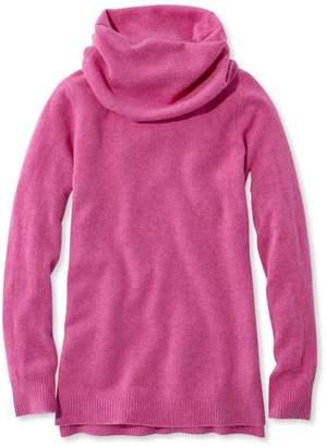 L.L. Bean L.L.Bean Classic Cashmere Sweater, Cowlneck