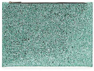 Victoria Beckham Large Glitter Pouch