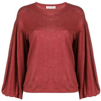 Ulla Johnson bell sleeves blouse