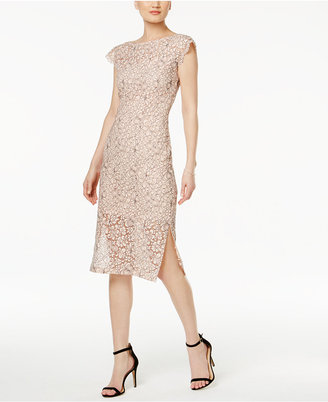 Jessica Simpson Illusion Lace Sheath Dress $118 thestylecure.com