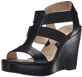 Adrienne Vittadini Footwear Women's Cleve Wedge Sandal $89 thestylecure.com
