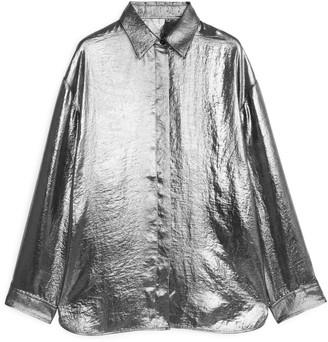 Arket Metallic Shirt