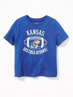 Old Navy College Team Football Tee for Toddler Boys