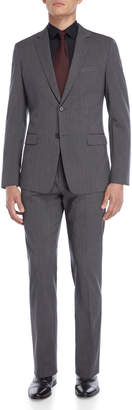 Theory Two-Piece Grey Rodolf Wool Suit