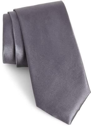 Nordstrom Solid Satin Silk Tie