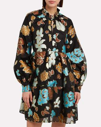 Stine Goya Jasmine Organza Floral Dress