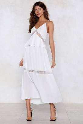 Nasty Gal It Tiers Me Up Maxi Dress