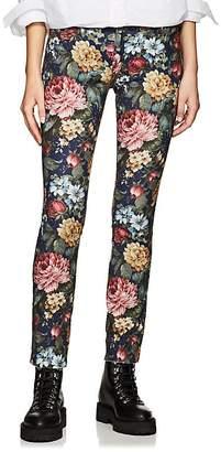 Comme des Garcons Junya Watanabe Women's Floral Skinny Jeans