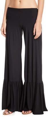 Chiara Boni Linnea Wide-Leg Coverup Pants