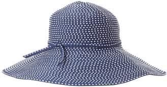 San Diego Hat Company Women's Ribbon Braid Hat With Five-Inch Brim