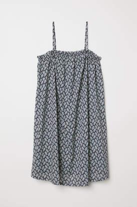 H&M Sleeveless Jersey Dress - Blue