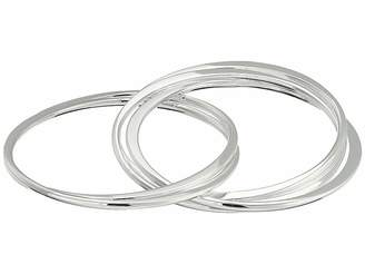 Robert Lee Morris Multi Interlocking Bangle Bracelet
