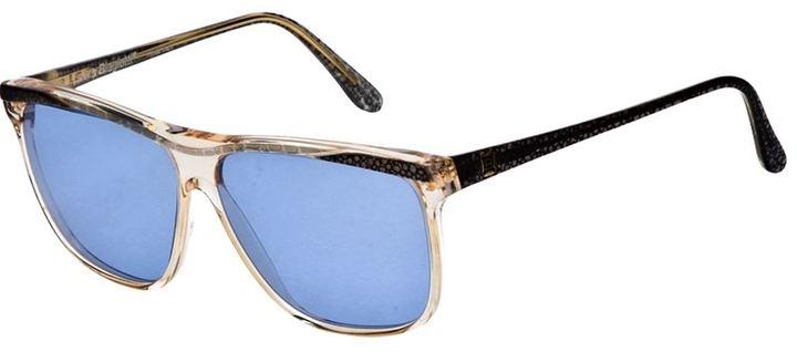 Laura Biagiotti Vintage textured sunglasses