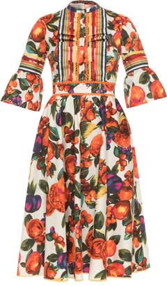 Lena Hoschek Fruit Salad Peasant Dress