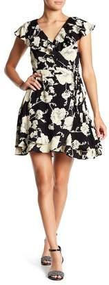Free People French Quarter Ruffle Mini Dress