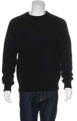 Saint Laurent Wool Crew Neck Sweater