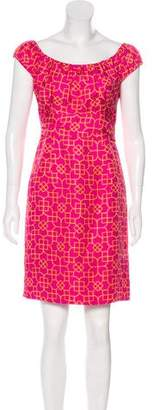 Milly Silk Printed Dress