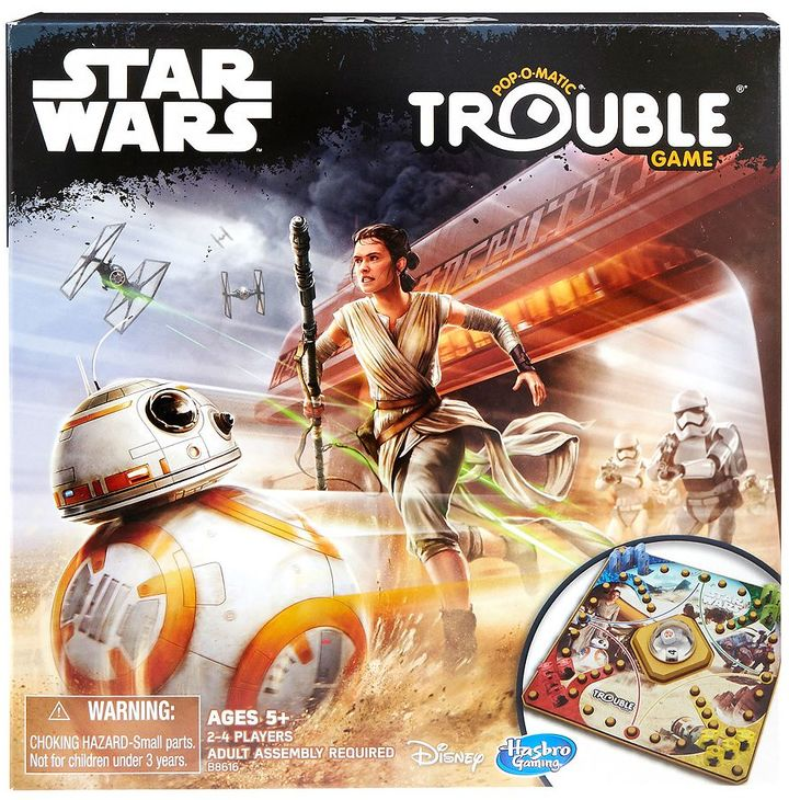 Hasbro Trouble Game: Star Wars Edition by Hasbro