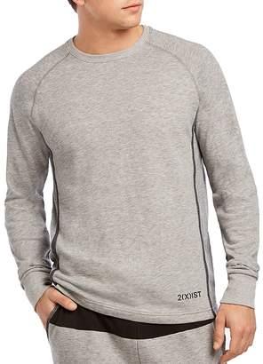 2xist Mesh Lounge Crewneck Sweatshirt