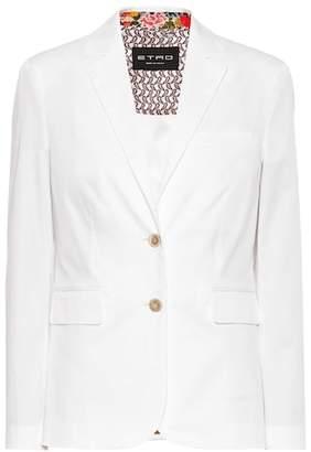 Etro Stretch cotton blazer